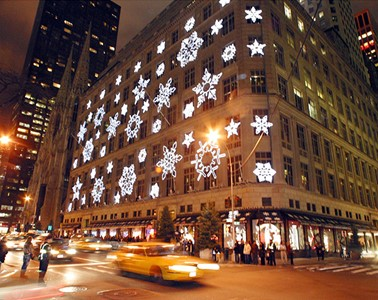 Christmas Shopping in New York